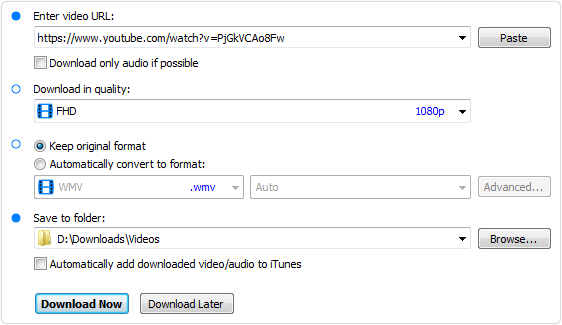YouTube Video Downloader Pro: download and convert videos